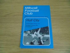 Millwall v Hull City, 1972/73